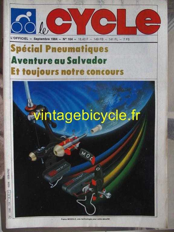 Vintage bicycle fr l officiel du cycle 67 copier