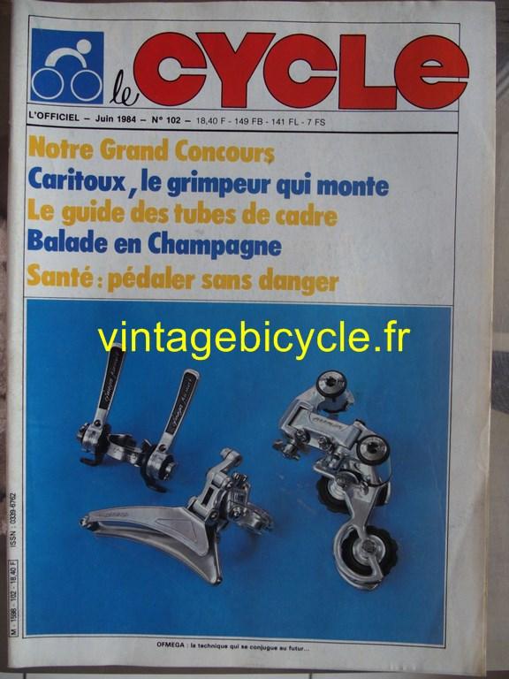 Vintage bicycle fr l officiel du cycle 68 copier