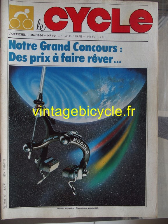 Vintage bicycle fr l officiel du cycle 69 copier