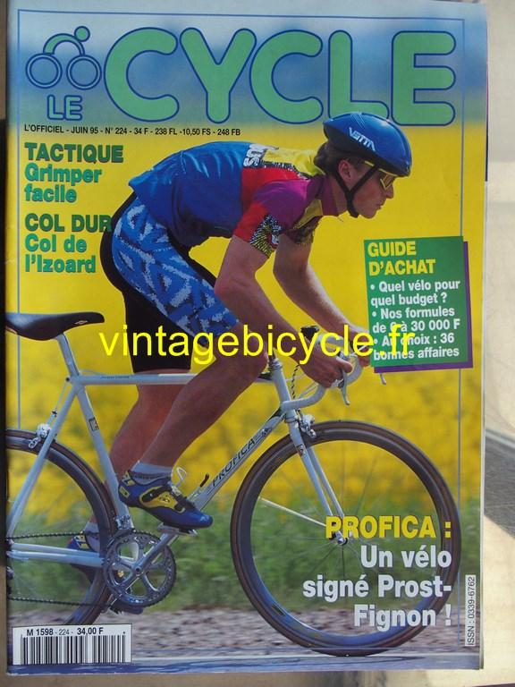 Vintage bicycle fr l officiel du cycle 7 copier