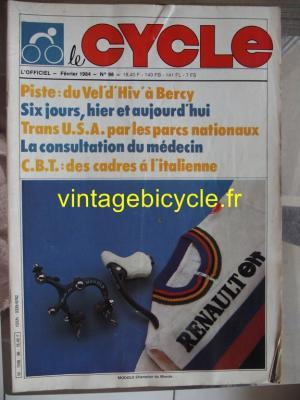 LE CYCLE l'officiel 1984 - 02 - N°98 fevrier 1984