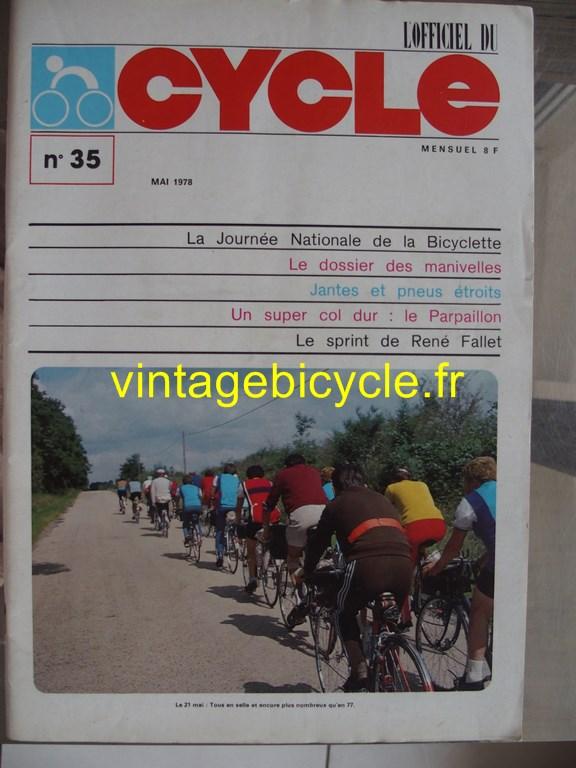 Vintage bicycle fr l officiel du cycle 76 copier