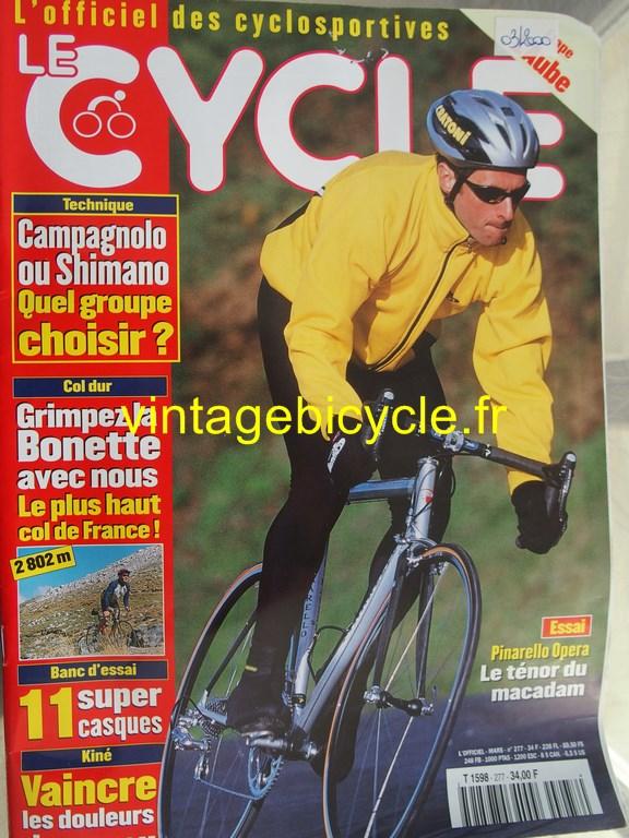 Vintage bicycle fr l officiel du cycle 89 copier