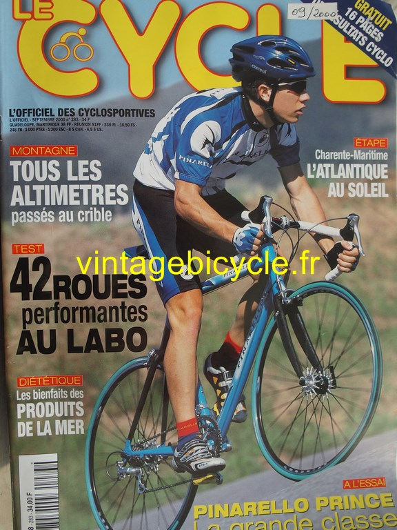Vintage bicycle fr l officiel du cycle 90 copier