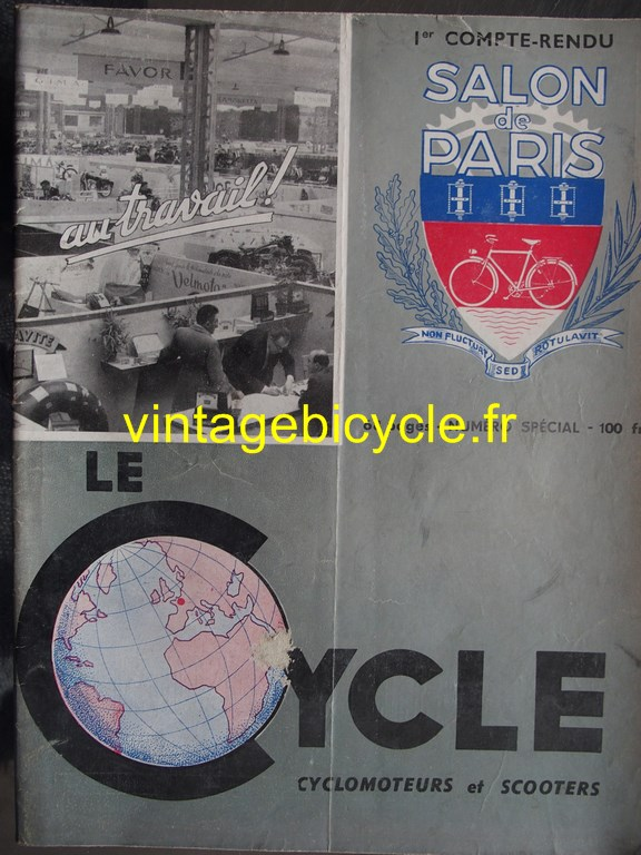 Vintage bicycle fr le cycle 20 copier