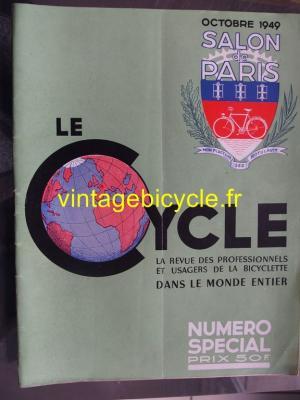 LE CYCLE 1949 - 10 - N°24 octobre 1949