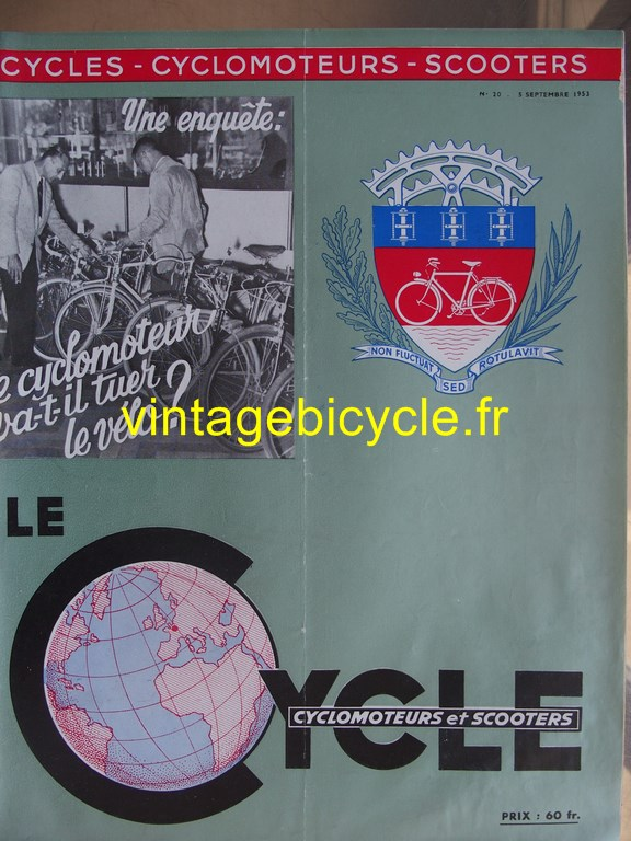 Vintage bicycle fr lecycle 115 copier