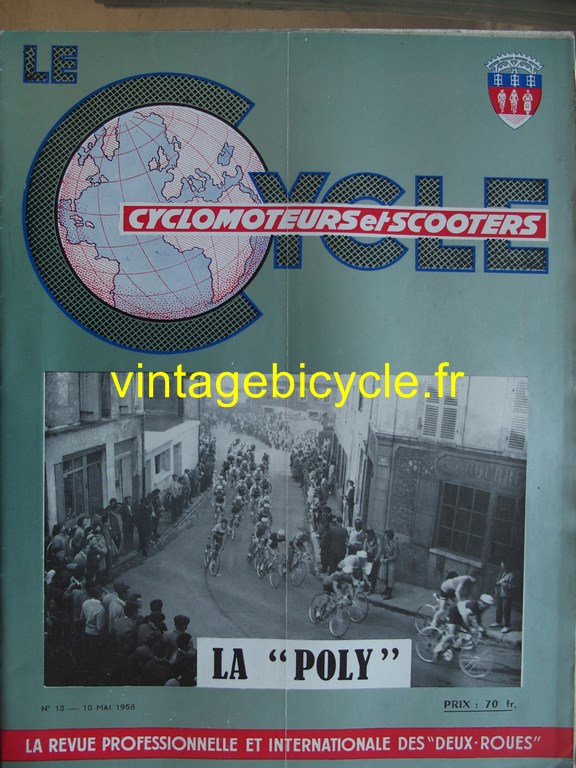 Vintage bicycle fr lecycle 12 copier