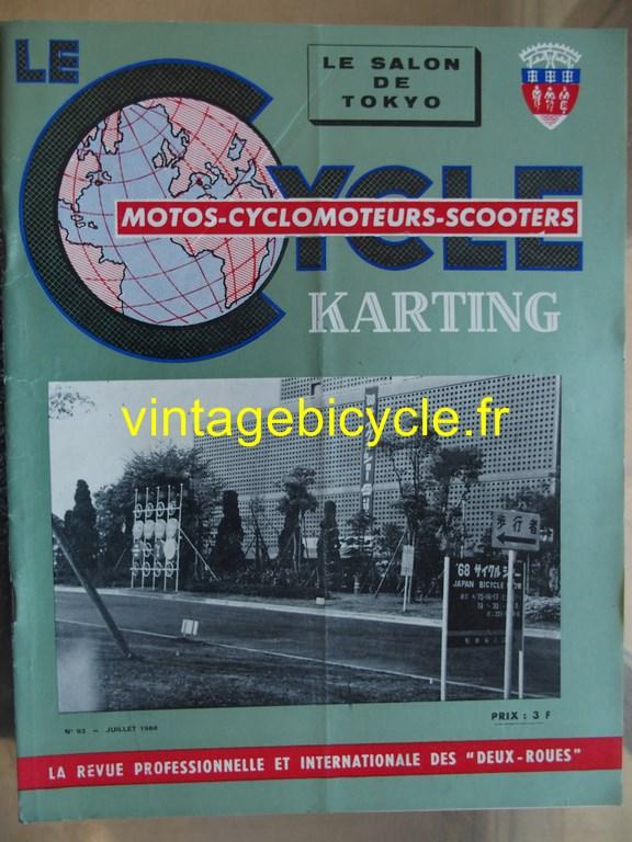 Vintage bicycle fr lecycle 49 copier