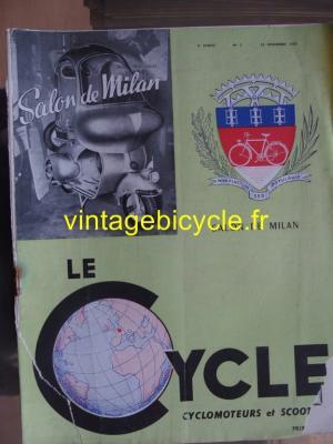 LE CYCLE 1950 - 12 - N°3 decembre 1950