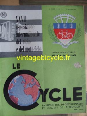 LE CYCLE 1949 - 12 - N°3 decembre 1949