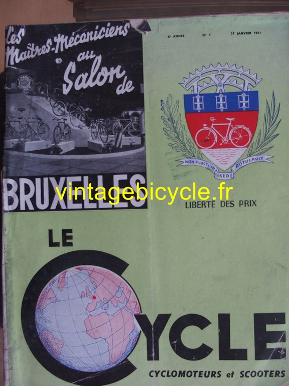 Vintage bicycle fr lecycle 58 copier
