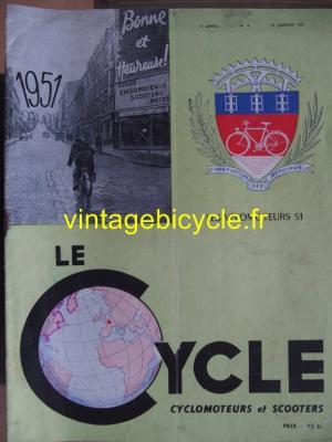 LE CYCLE 1951 - 01 - N°4 janvier 1951