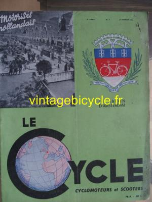 LE CYCLE 1951 - 02 - N°7 fevier 1951