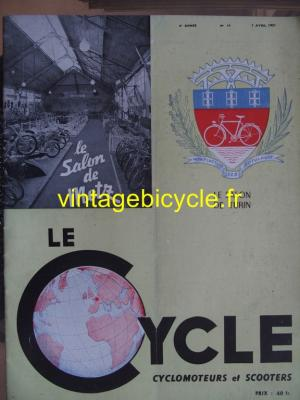 LE CYCLE 1951 - 04 - N°10 avril 1951