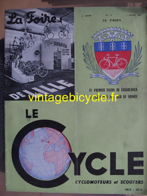 Vintage bicycle fr lecycle 71 copier