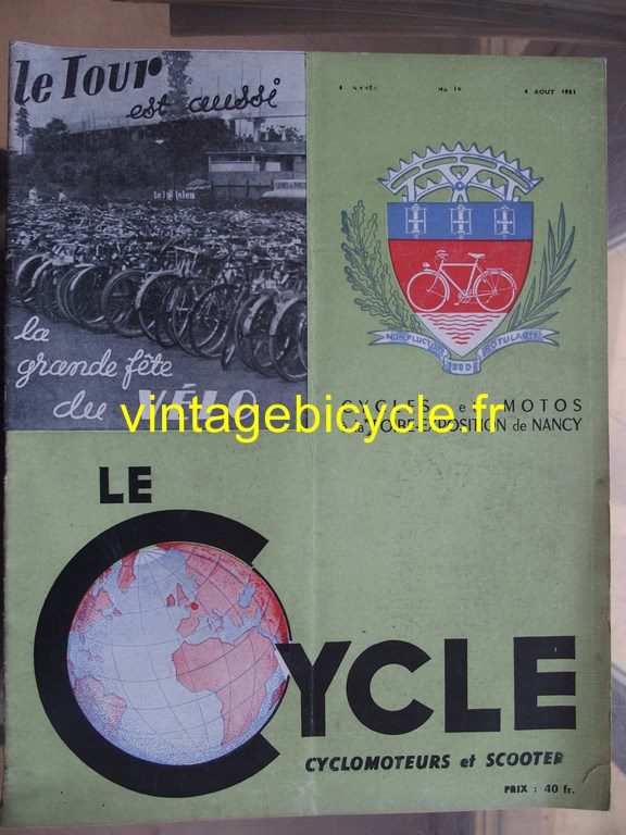 Vintage bicycle fr lecycle 74 copier