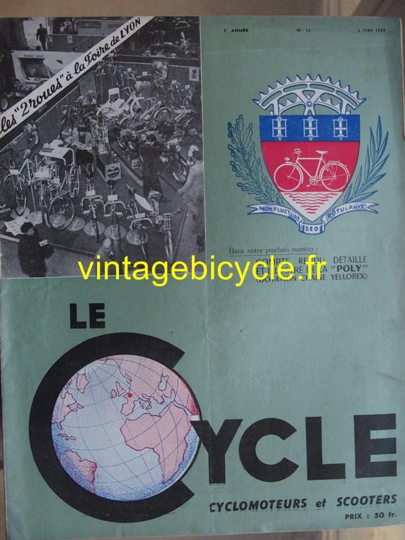 Vintage bicycle fr lecycle 88 copier