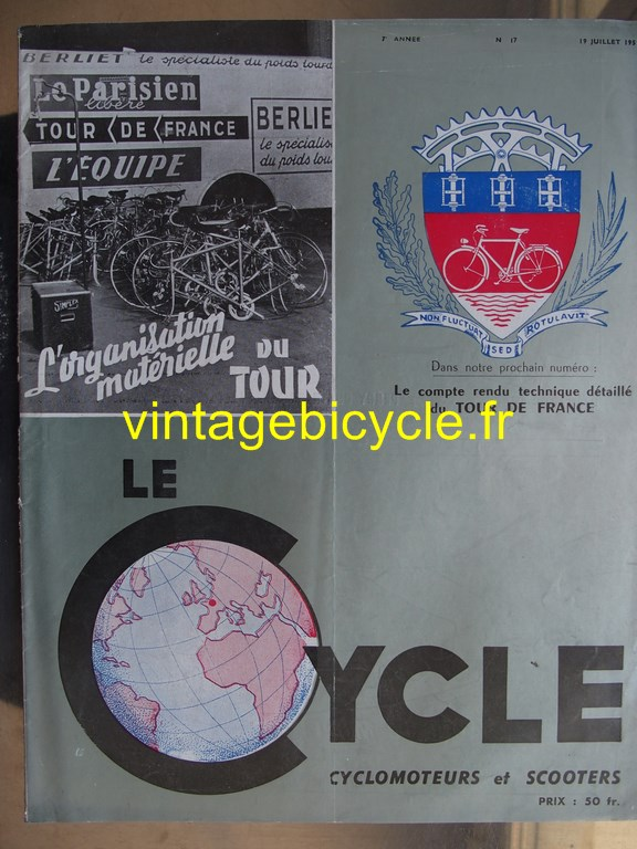 Vintage bicycle fr lecycle 92 copier