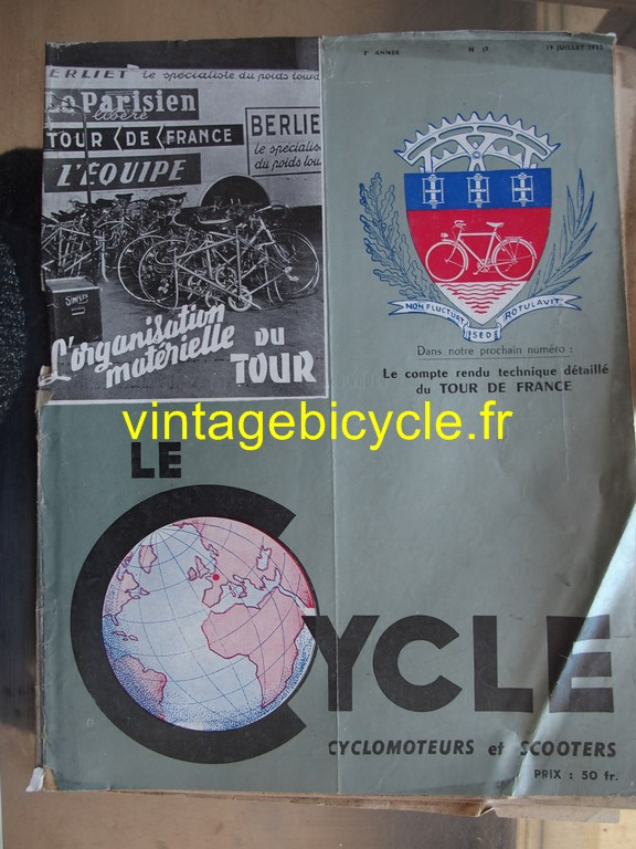 Vintage bicycle fr lecycle 93 copier