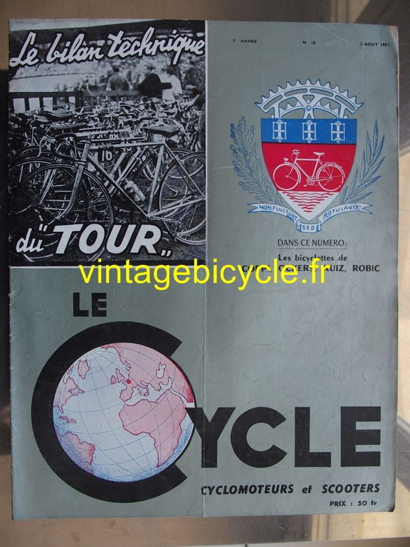 Vintage bicycle fr lecycle 94 copier
