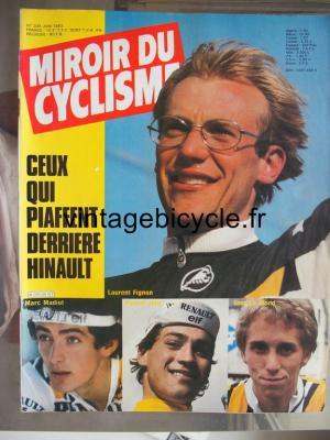 MIROIR DU CYCLISME 1983 - 06 - N°335 juin 1983