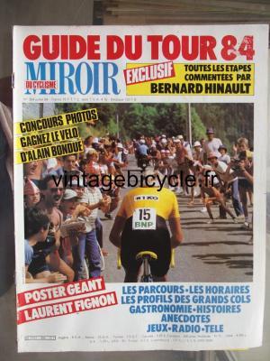 MIROIR DU CYCLISME 1984 - 07 - N°354 juillet 1984