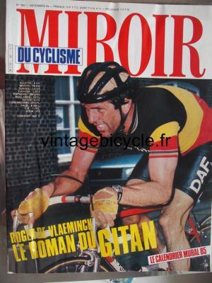MIROIR DU CYCLISME 1984 - 12 - N°362 decembre 1984
