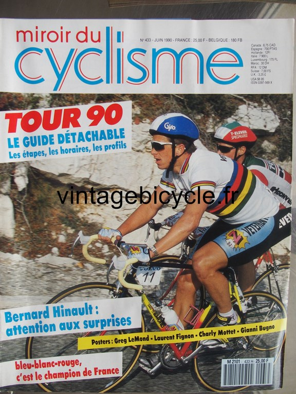 Vintage bicycle fr miroir du cyclisme 35 copier