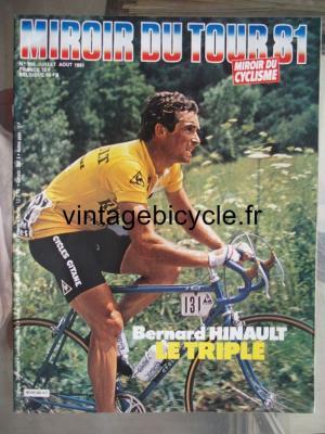 MIROIR DU CYCLISME 1981 - 07 - N°305 juillet / aout 1981
