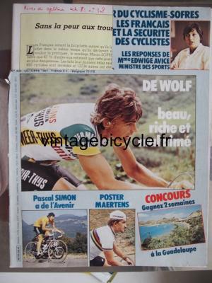 MIROIR DU CYCLISME 1981 - 10 - N°308 octobre 1981
