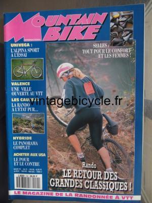 MOUNTAIN BIKE INTERNATIONAL 1993 - 03 - N°24 mars 1993