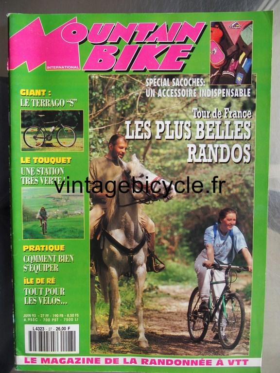 Vintage bicycle fr mountain bike international 9 copier