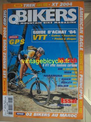 O2 BIKERS - 2004 - 02 - N°97 fevrier 2004