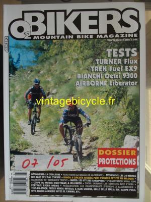 O2 BIKERS - 2005 - 07 - N°111 juillet 2005