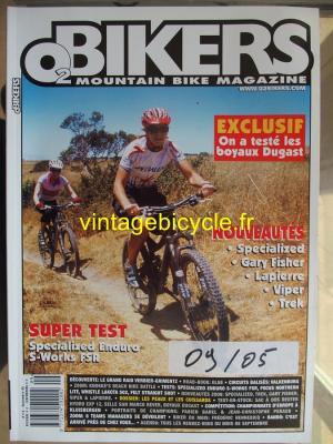 O2 BIKERS - 2005 - 09 - N°113 septembre 2005