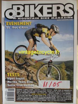 O2 BIKERS - 2005 - 11 - N°115 novembre 2005