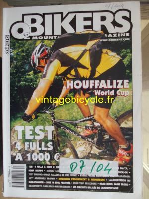 O2 BIKERS - 2004 - 07 - N°101 juillet 2004