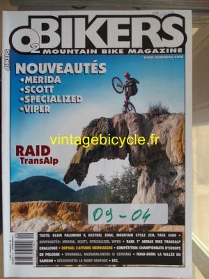 O2 BIKERS - 2004 - 09 - N°103 septembre 2004