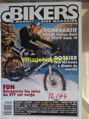 O2 BIKERS - 2004 - 12 - N°106 decembre 2004
