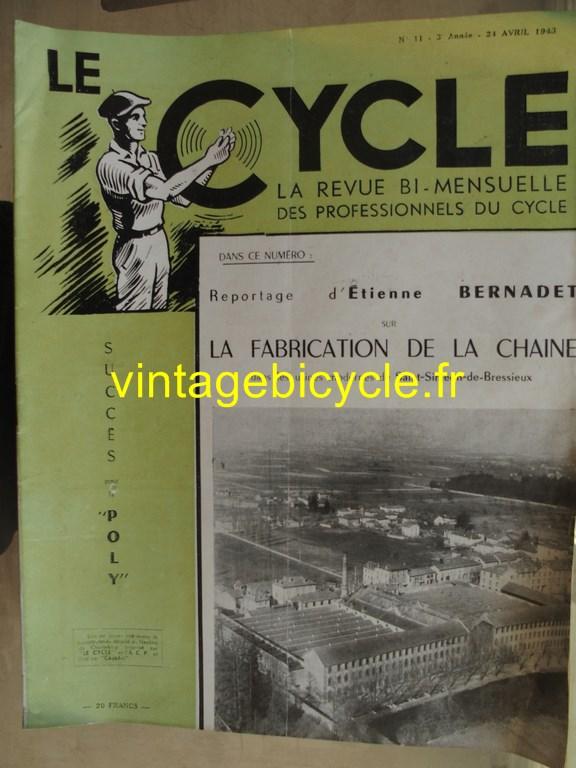 Vintage bicycle le cycle 1 copier
