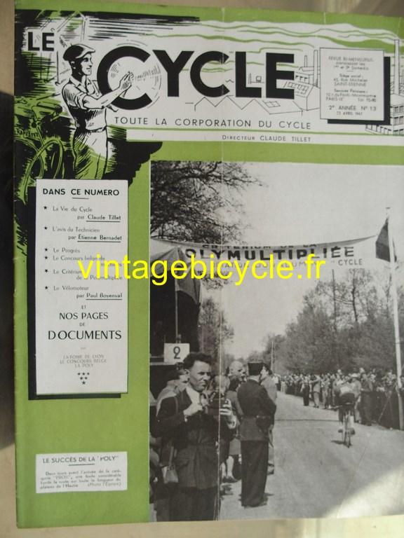 Vintage bicycle le cycle 16 copier