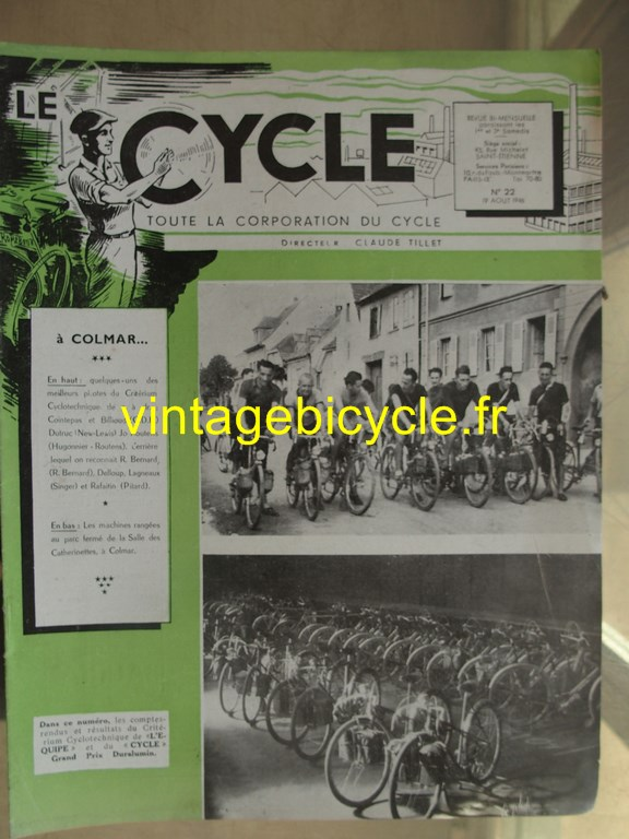 Vintage bicycle le cycle 26 copier