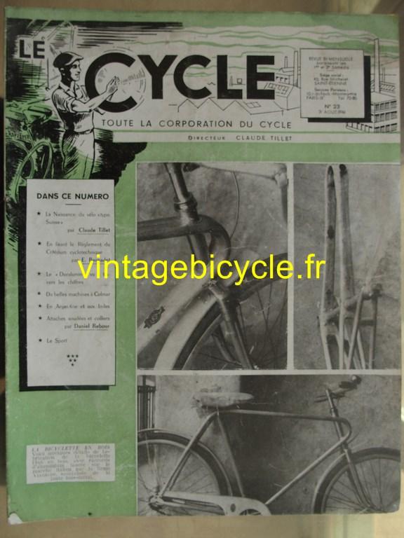 Vintage bicycle le cycle 27 copier