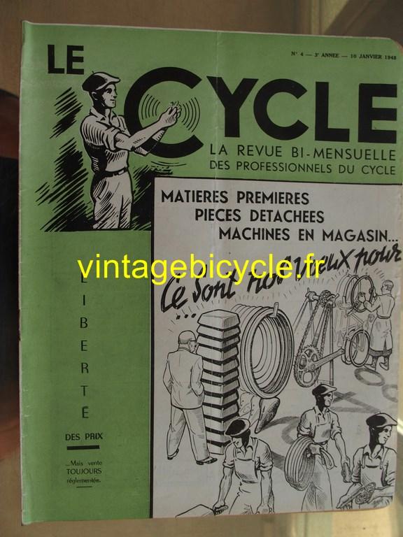 Vintage bicycle le cycle 39 copier