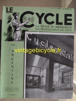 LE CYCLE 1948 - 01 - N°5 janvier 1948