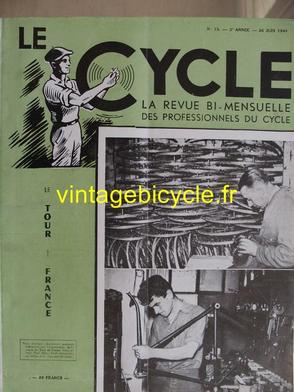 Vintage bicycle le cycle 50 copier