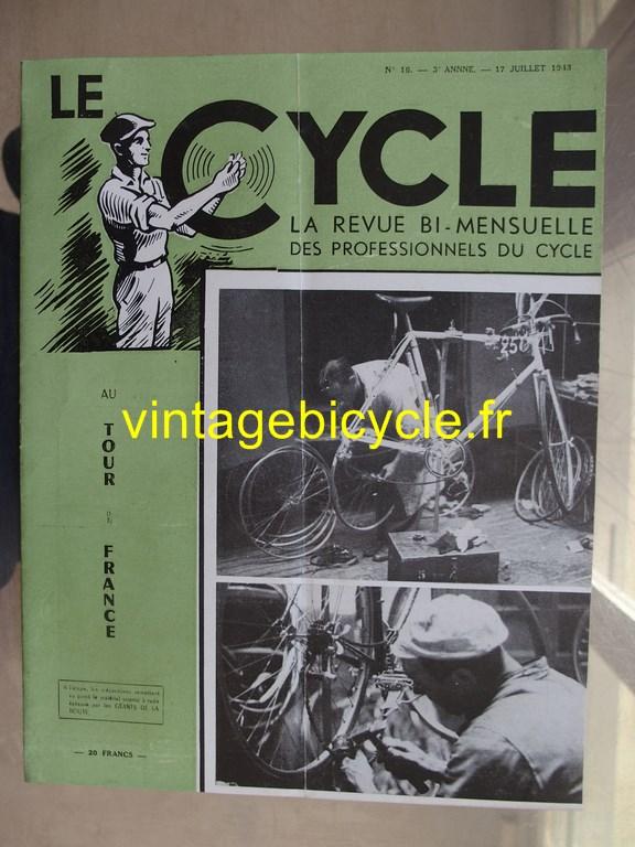 Vintage bicycle le cycle 51 copier