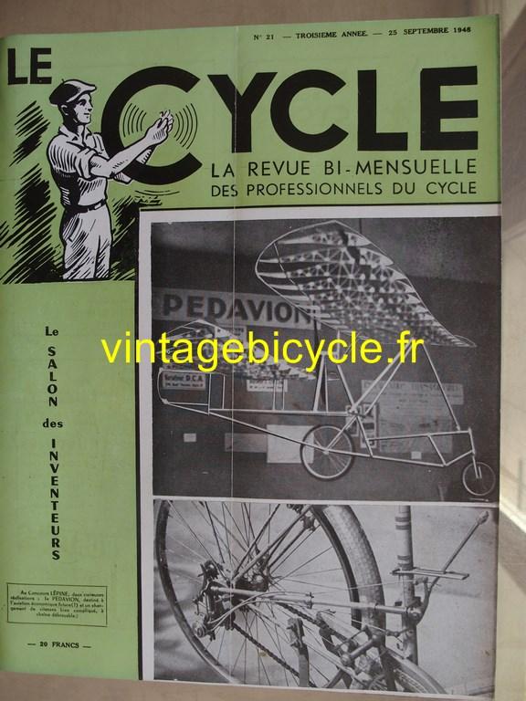 Vintage bicycle le cycle 56 copier