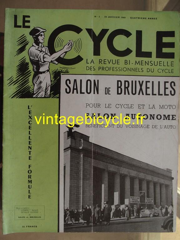 Vintage bicycle le cycle 63 copier
